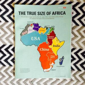 True size of Africa (medium)