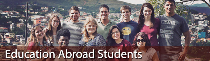 education abroad students